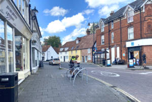 A quiet Whitchurch centre is starting to open up.